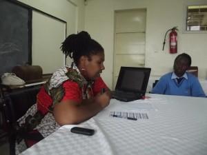 RZG mLearning in Kenya