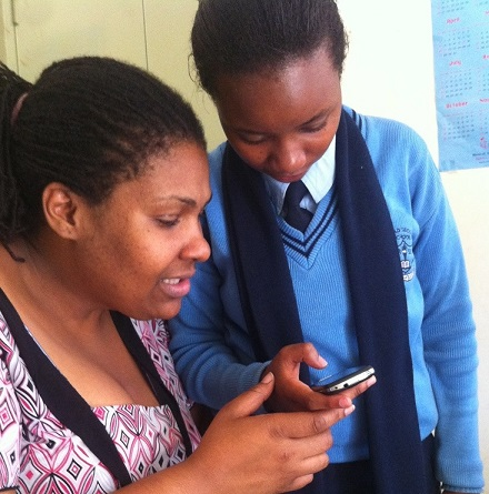 What happens when secondary school girls in Nairobi are introduced to a mobile learning tool?