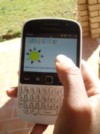 M-Thuto, a mobile learning app Dr Jantjies developed